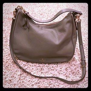 kate spade ♠️ EUC gray purse